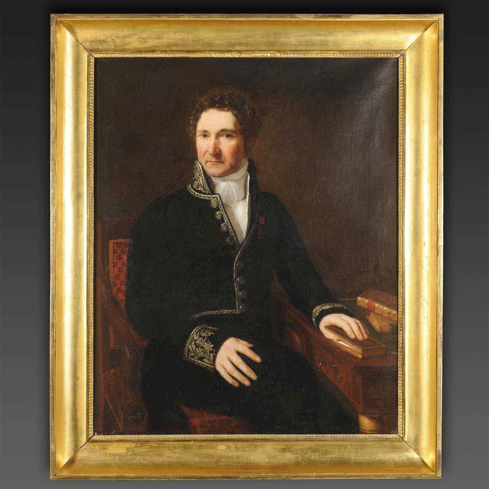 Portrait de J-B de Martignac, Premier Ministre de Charles X