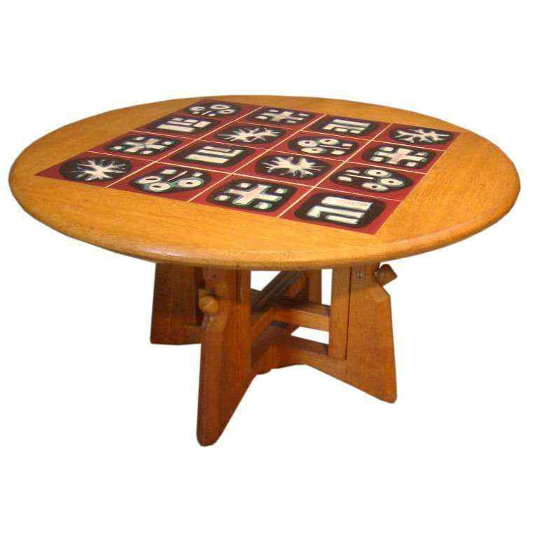 Gullerme e Chambron, tavolo da salone