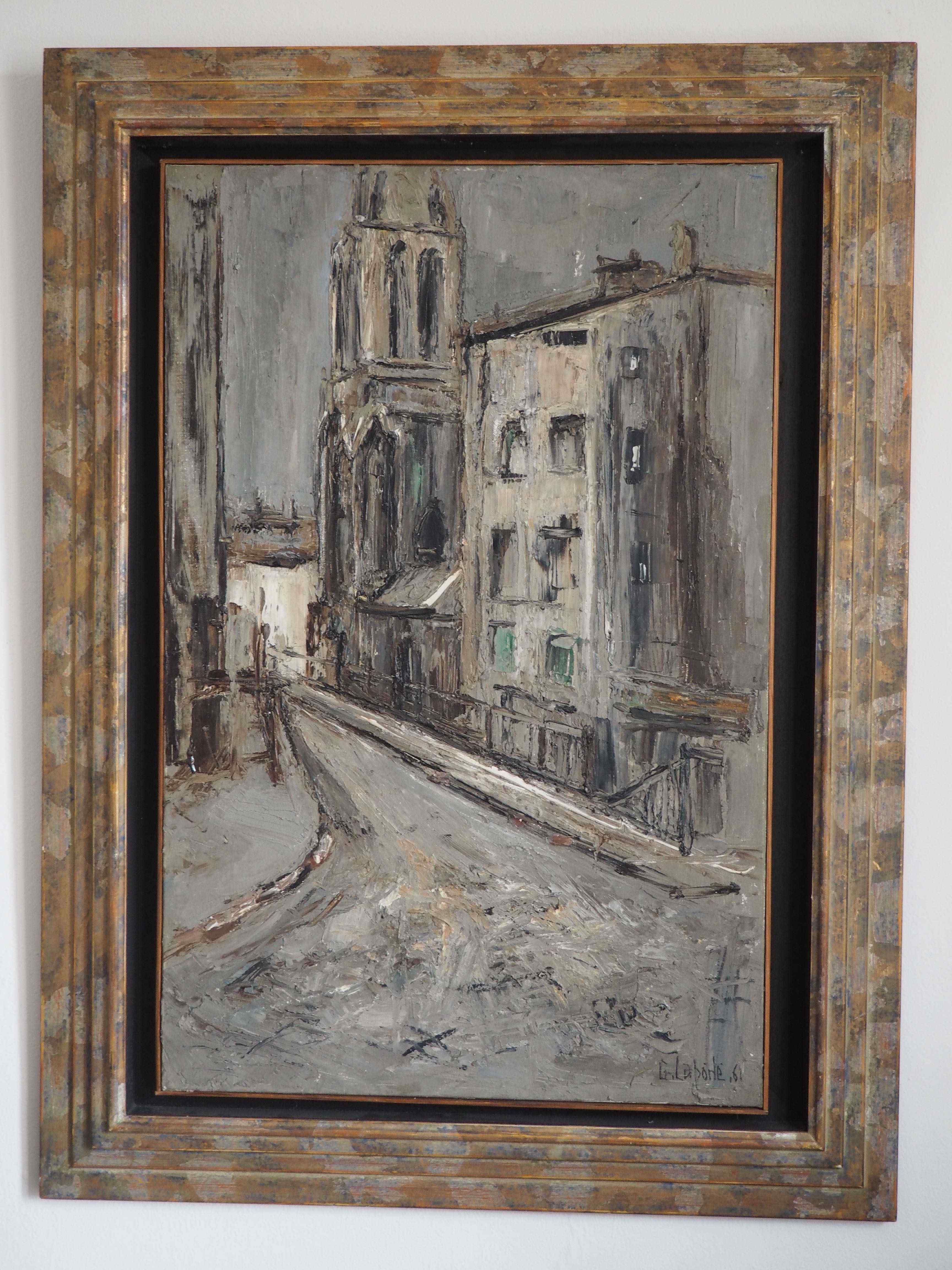 Georges Laporte, strada di Lione, 1961
