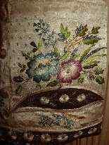 Vest di Uomini, seta ricamata, fine del 18 ° secolo-10