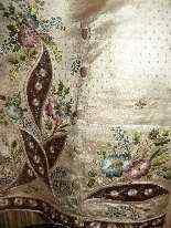 Vest di Uomini, seta ricamata, fine del 18 ° secolo-6