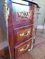 Marquetery commode timbrato JC ELLAUME-6