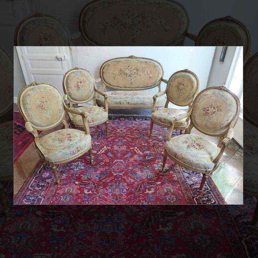 legno dorato ricoperto di salone degli Arazzi