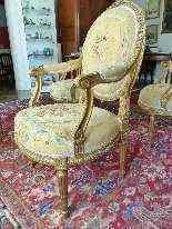 legno dorato ricoperto di salone degli Arazzi-7