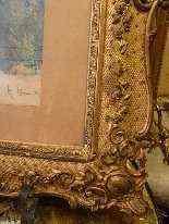 Ritratto di Sarah Bernhardt di Attilio Simonetti, acquarello-4