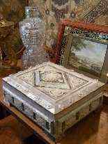 Madre-perla scatola, fine del 19 ° secolo-12