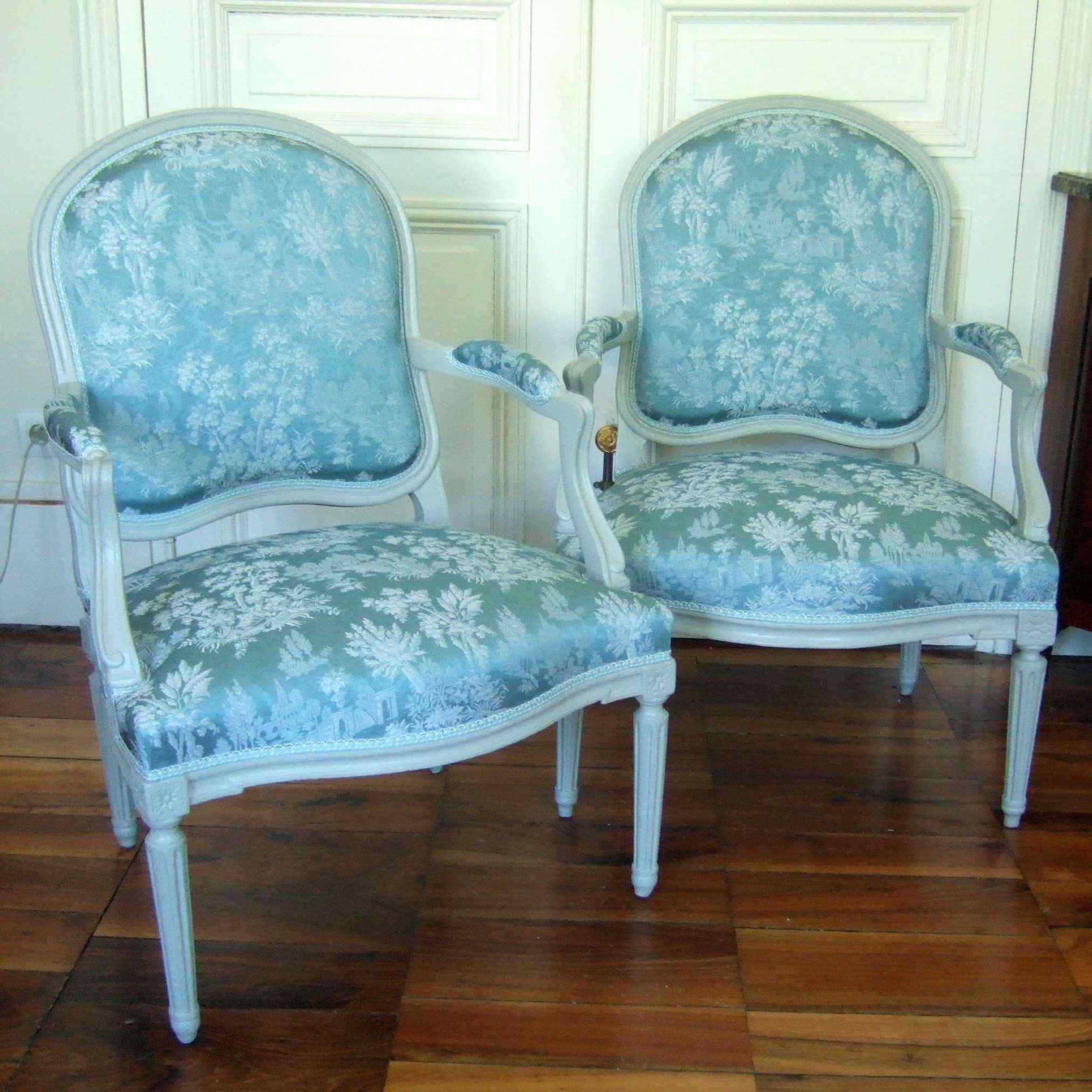 Coppia di sedie d'epoca Transizione, Francia, XIX secolo