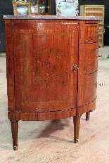 Dresser commode demi-lune, France, XIX century-0