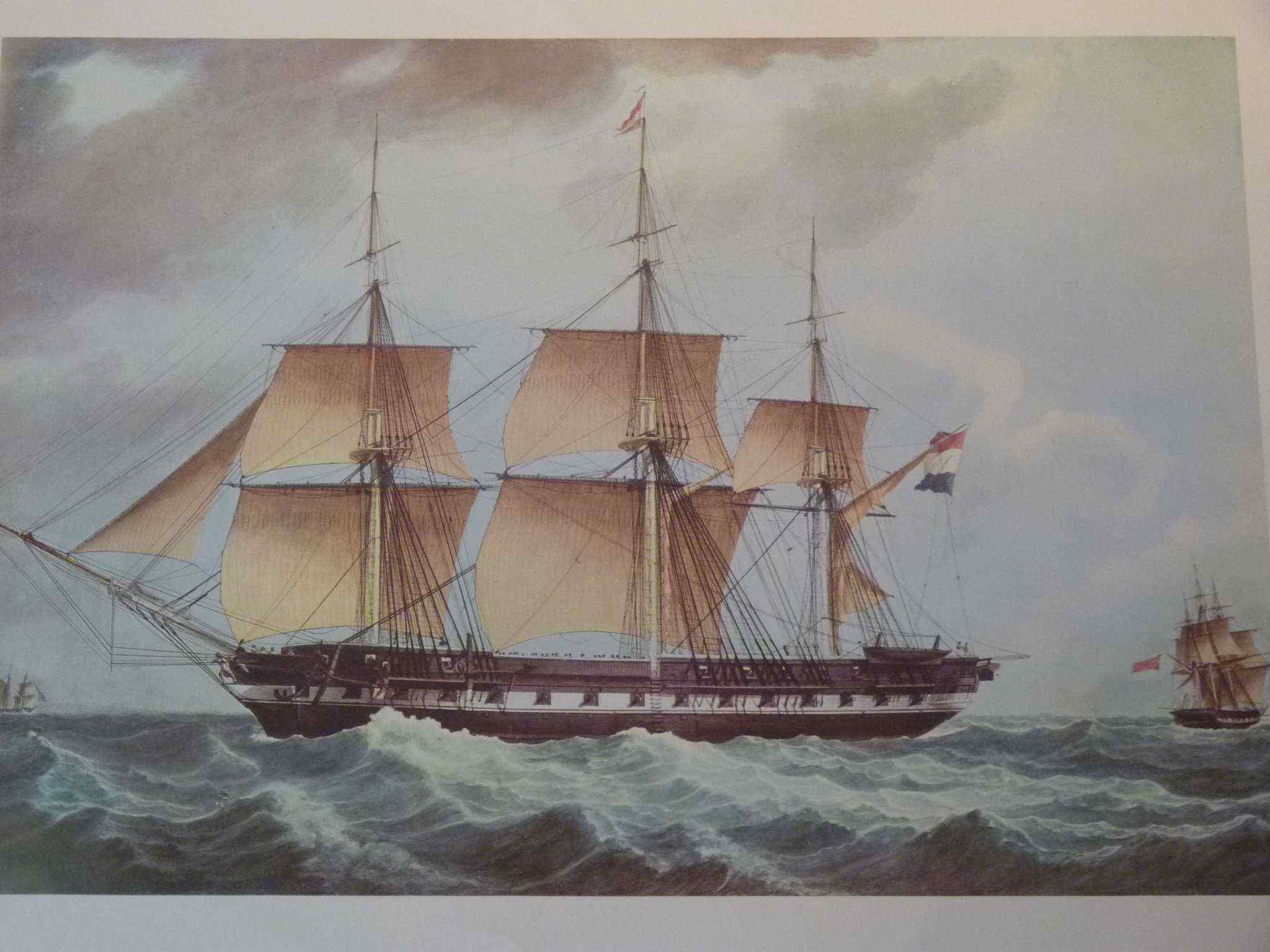 10 incisioni, barche, dopo Roux di Marsiglia, 20 ° secolo