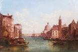 Coppia antica Dipinti ad olio Venezia Alfred Pollentine XIX -3