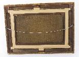 Coppia antica Dipinti ad olio Venezia Alfred Pollentine XIX -11