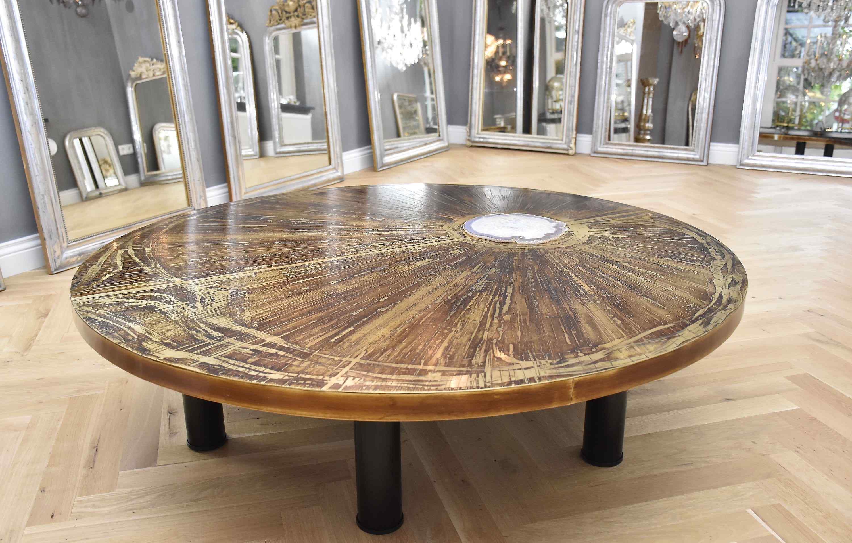 Un tavolino da caffè eccezionale e unico di Marc D'Haenens
