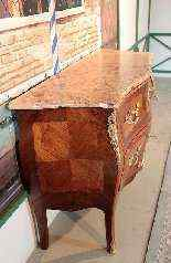 Cassettone stile Luigi XV, XX secolo-0