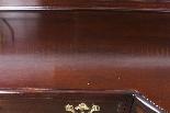 Coppia di tavolini dorati antichi in mogano del 1800-6