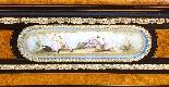 Antique Burr Walnut vittoriano Credenza Sevres Plaques 19th -2