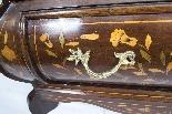 Antique Dutch Marquetry Walnut Cabinet on Chest c.1780-9