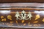 Antique Dutch Marquetry Walnut Cabinet on Chest c.1780-11