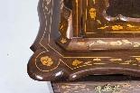 Antique Dutch Marquetry Walnut Cabinet on Chest c.1780-4
