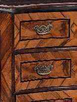 A 18th century Chest of drawers, Italy-5