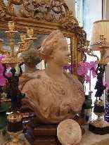 Busto raffigurante la regina Marie Leczinska, XIX secolo-7