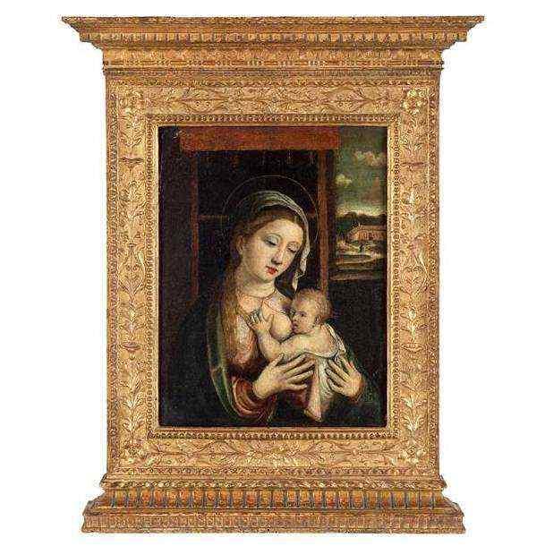 Madonna del latte, seconda metà XV secolo