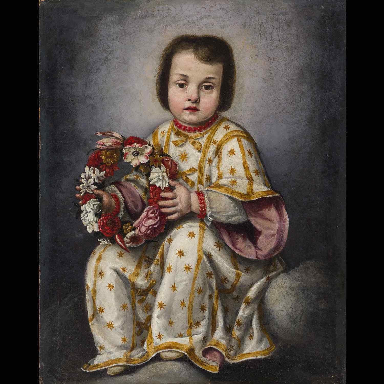 Salvator Mundi Jésus enfant