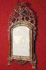 Specchiera torinese dorata dei primi del XX secolo-1