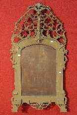 Зеркало резное и золотой лес Турин начала ХХ века-5
