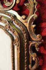 Specchiera torinese dorata dei primi del XX secolo-8
