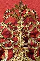 Specchiera torinese dorata dei primi del XX secolo-10