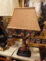 Coppia di lampade stile barocco, XX secolo-4
