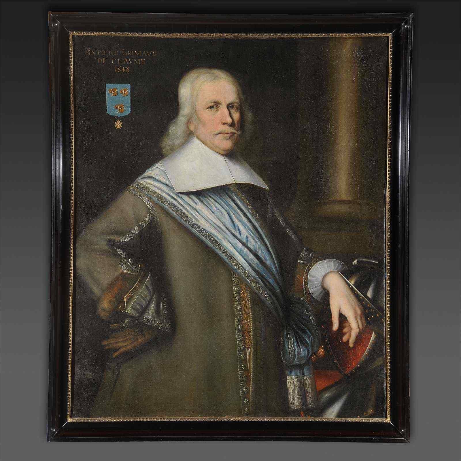 Bartholomeus van der Helst (Arround), Portrait of Antoine Gr
