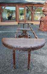 Tavolo estendibile in quercia, Francia, XX secolo-6