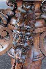 Tavolo estendibile in quercia, Francia, XX secolo-14