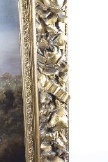 Antico dipinto ad olio François Gérard 1770-1837-9