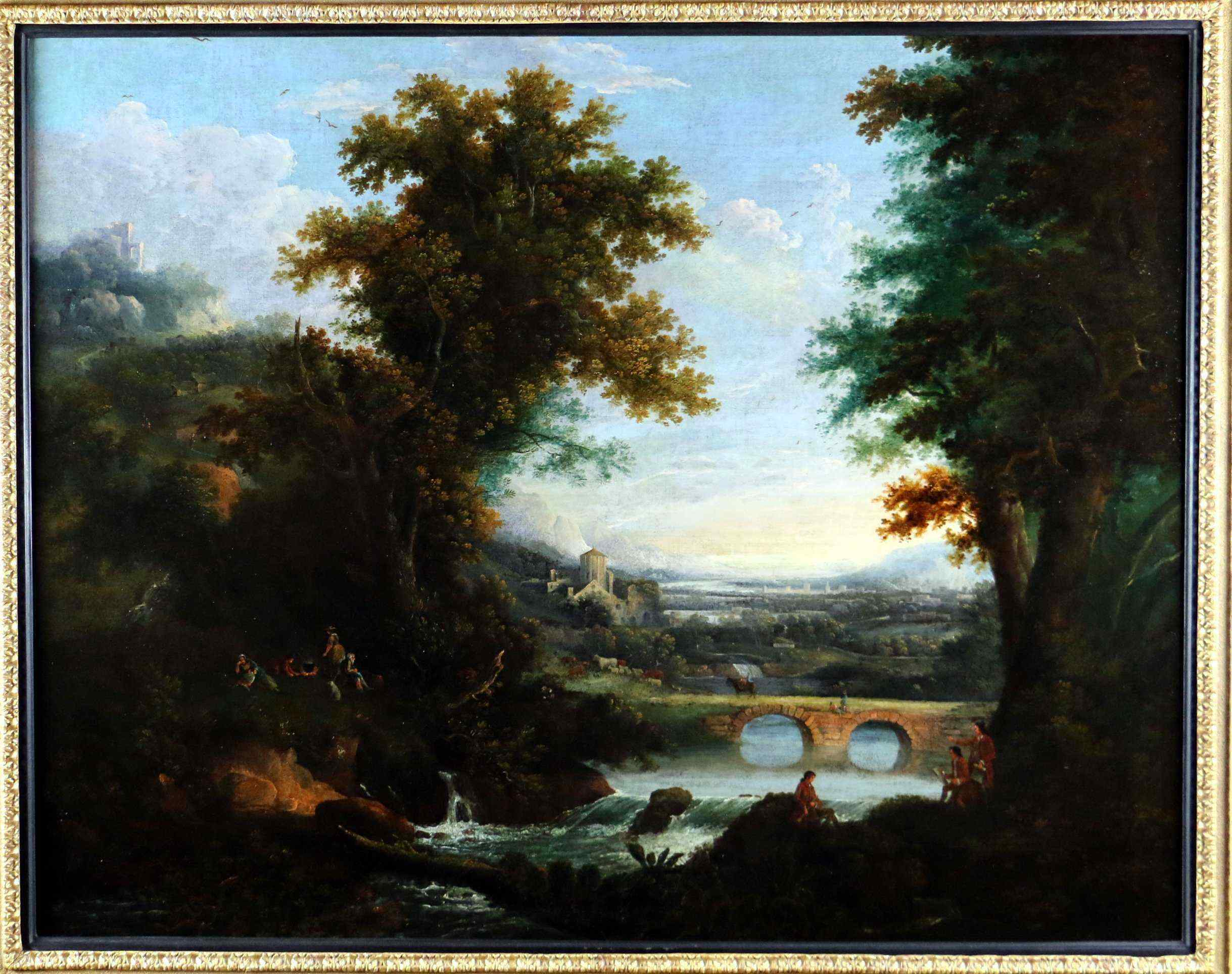 Of Chichester George Smith (1714-1776) Landscape