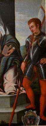 Vierge Et l'Enfant En Majesté Avec Les Saints -3