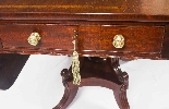 Glowlow da tavolo antico Regency George III Pembroke c.1820-0
