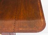 Glowlow da tavolo antico Regency George III Pembroke c.1820-5