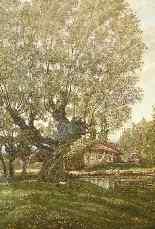 Antico dipinto Inglese del XIX secolo-1