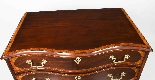 Antique Mahogany George III Serpentine Chest Drawers 18th C-3