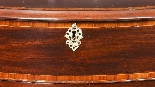 Antique Mahogany George III Serpentine Chest Drawers 18th C-6
