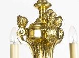 Lustre Antique Style Louis XIV en bronze doré C1900-1