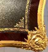 Grand bureau Régence en Palissandre-13