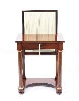 Tavolino da consolle antico stile impero inglese XIX sec-2