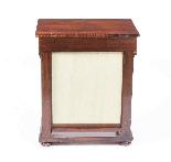 Tavolino da consolle antico stile impero inglese XIX sec-4