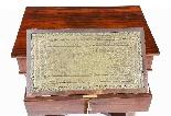 Tavolino da consolle antico stile impero inglese XIX sec-7