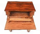 Tavolino da consolle antico stile impero inglese XIX sec-8