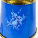 Antique Pair French Bleu Celeste Sevres Vases Lamps 19th C-5