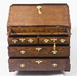 Antique English William & Mary Bureau 17th C-1